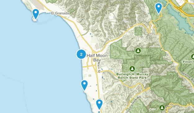 Half Moon Bay, California Wildlife Map
