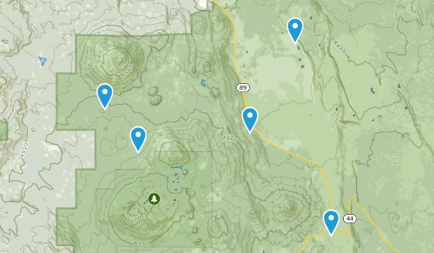 Hat Creek, California Dog Friendly Map