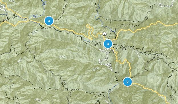 Hidden Springs, California Hiking Map