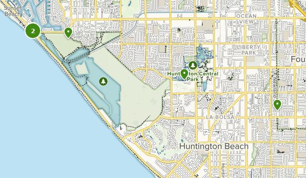 Trails Near Huntington Beach