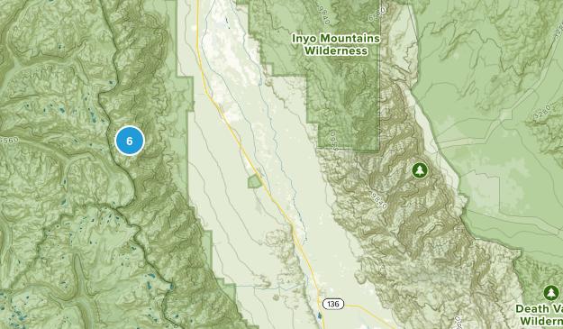 Independence, California Lake Map