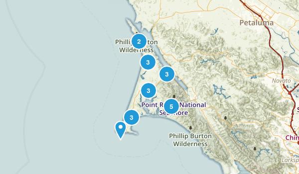 Inverness, California Birding Map