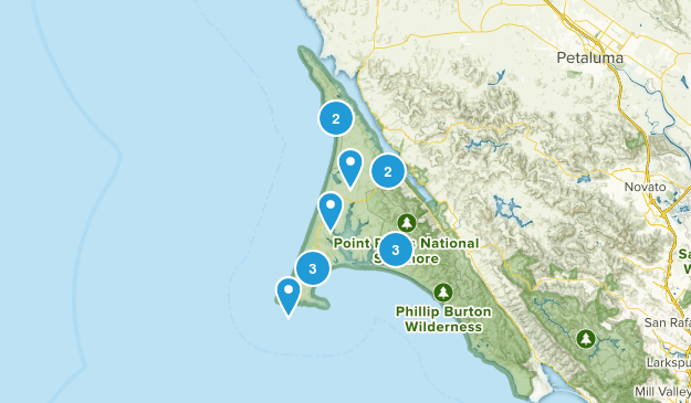Inverness, California Kid Friendly Map