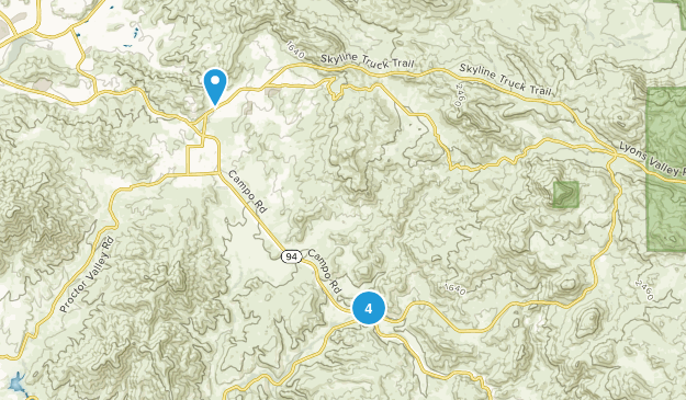 Jamul, California Birding Map