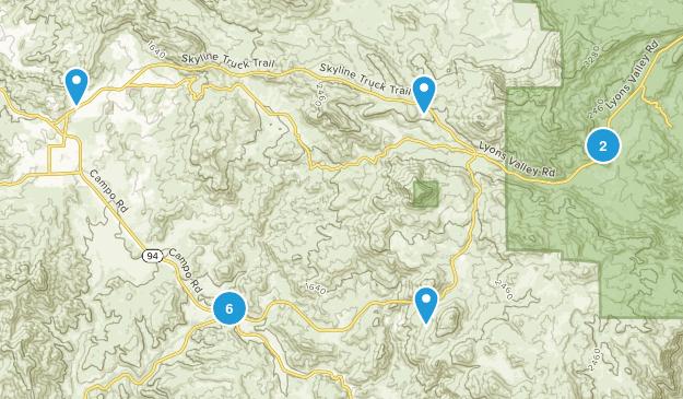 Jamul, California Views Map