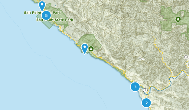 Map Of Jenner California.Best Beach Trails Near Jenner California Alltrails