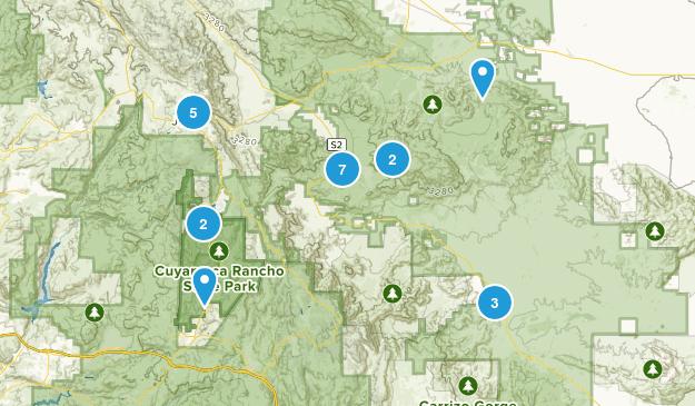 Julian, California Birding Map