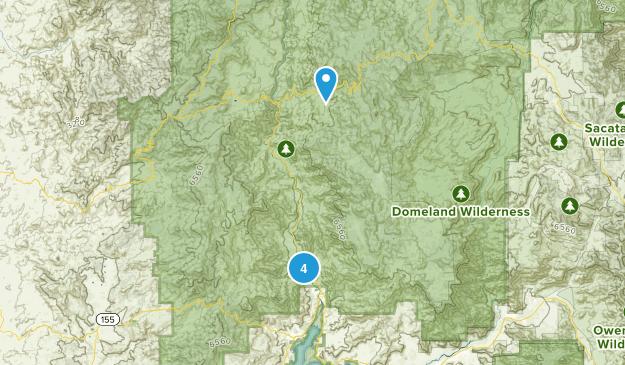 Kernville, California Views Map