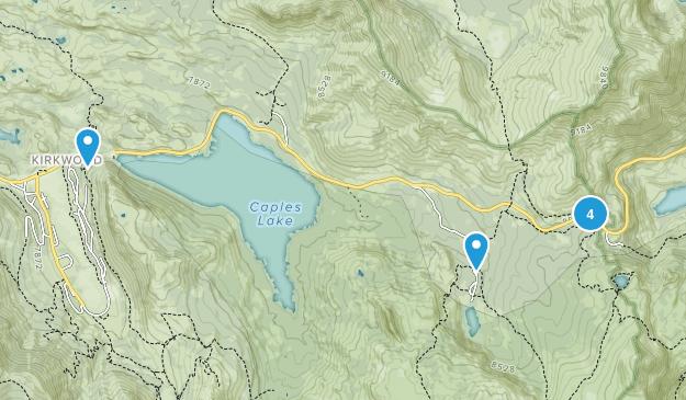 Kirkwood, California Views Map