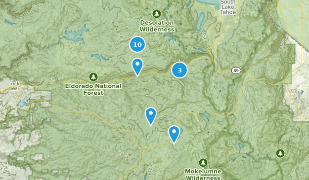 Best Hiking Trails Near Kyburz California Alltrails