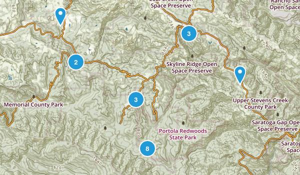 La Honda, California Birding Map
