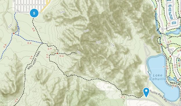 La Quinta, California Views Map