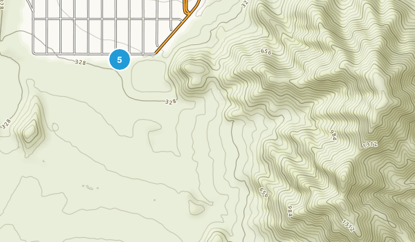 La Quinta, California Walking Map