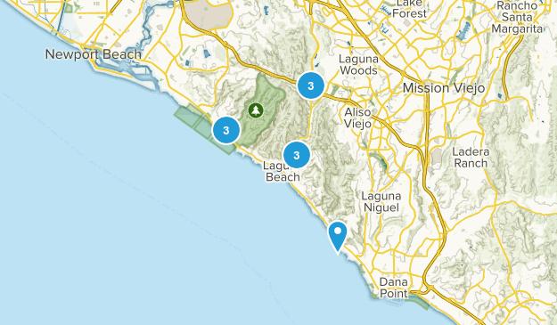 Laguna Beach, California Kid Friendly Map