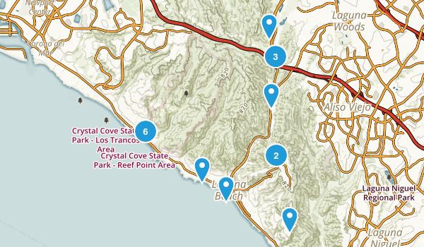 Best Trail Running Trails near Laguna Beach California 1106
