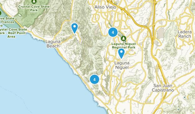 Laguna Niguel, California Birding Map
