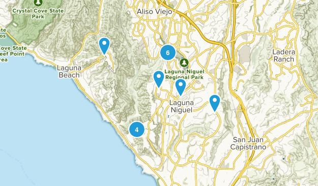Laguna Niguel, California Views Map