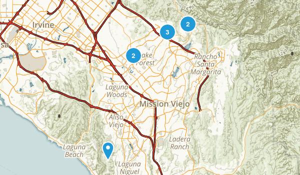 Lake Forest, California Birding Map
