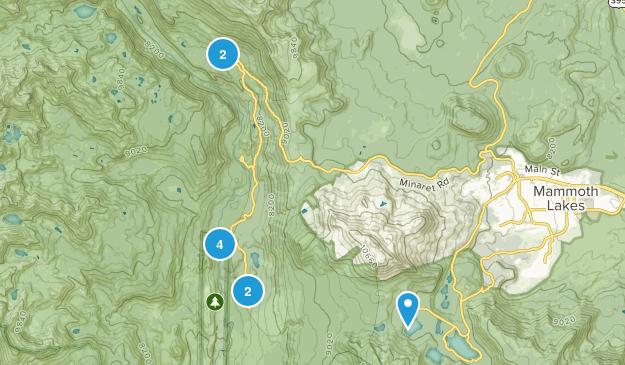 Lake Mary, California Dogs On Leash Map