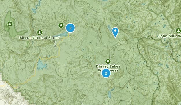 Lakeshore, California Camping Map