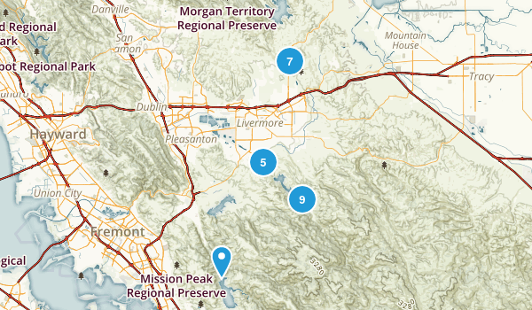 Livermore, California Birding Map