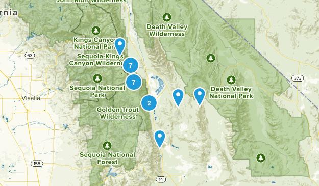 Lone Pine, California Views Map