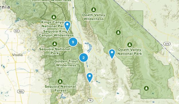 Lone Pine, California Wildlife Map