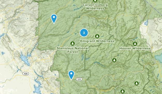 Long Barn, California Dogs On Leash Map