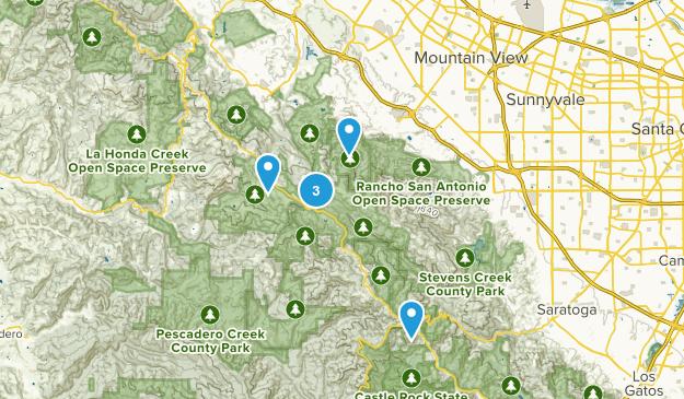 Los Altos, California Birding Map