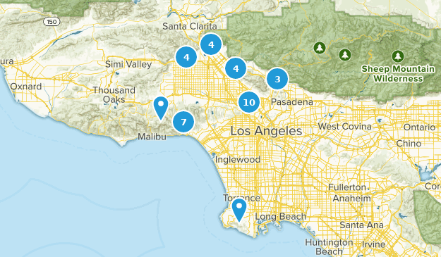 Best Horseback Riding Trails Near Los Angeles California Alltrails - Los-angeles-in-us-map