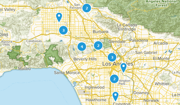 Map Of California Los Angeles.Best Lake Trails Near Los Angeles California Alltrails
