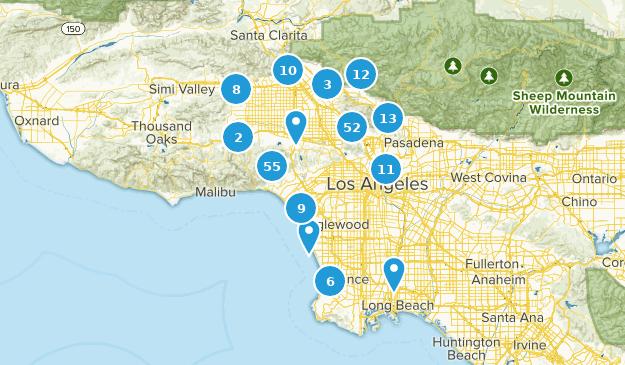 Map Australia 4371.Best Wild Flowers Trails Near Los Angeles California Alltrails