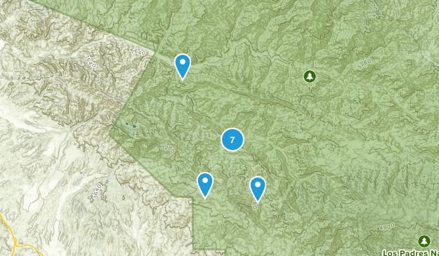 Los Olivos, California Birding Map