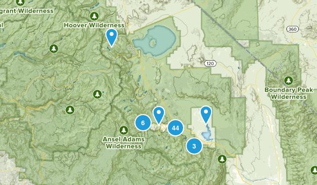 Mammoth Lakes, California Views Map