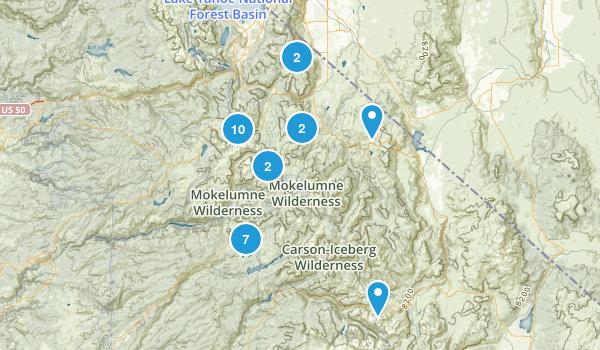 Markleeville, California Walking Map