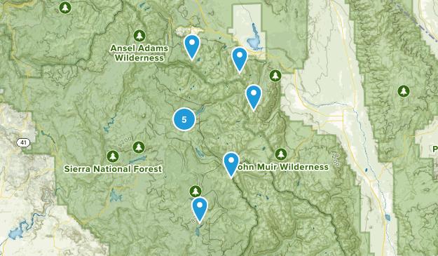Mono Hot Springs, California Views Map