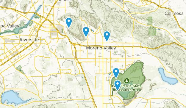Moreno Valley, California Wildlife Map