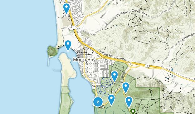 Morro Bay, California Kid Friendly Map