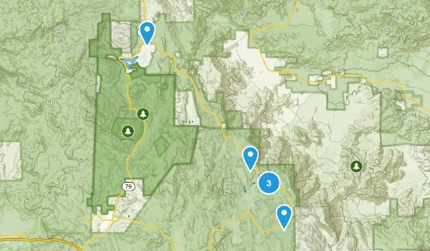 Mount Laguna, California Nature Trips Map