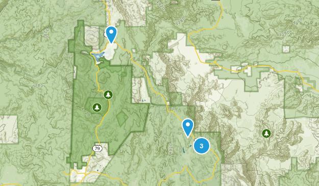 Mount Laguna, California Walking Map