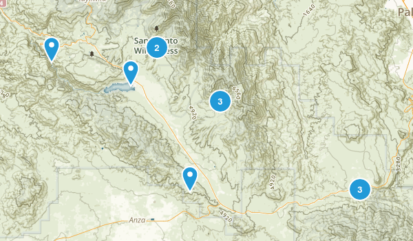 Mountain Center, California Birding Map