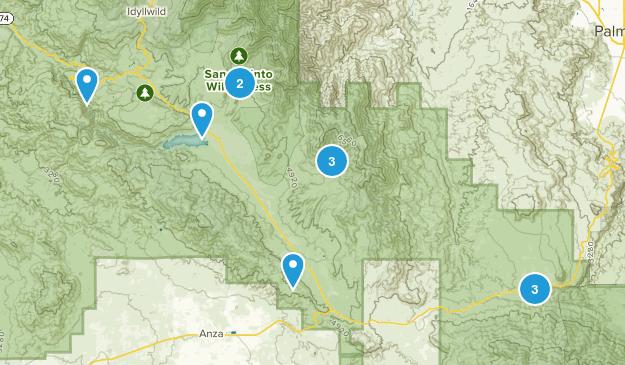 Mountain Center, California Birding Map
