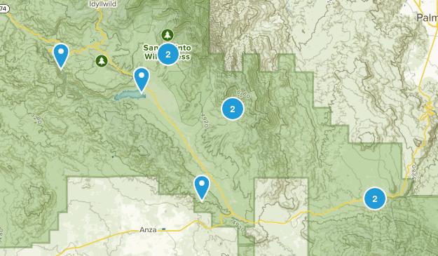 Mountain Center, California Forest Map