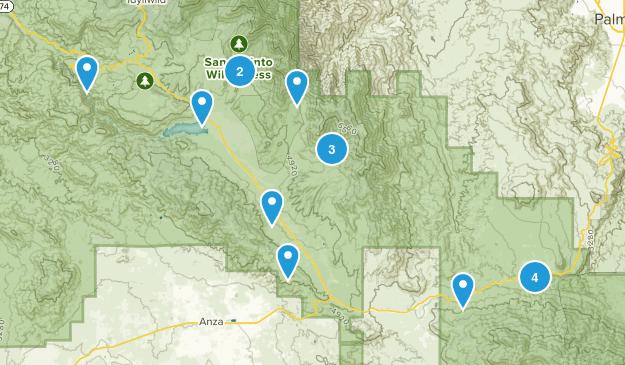 Mountain Center, California Views Map