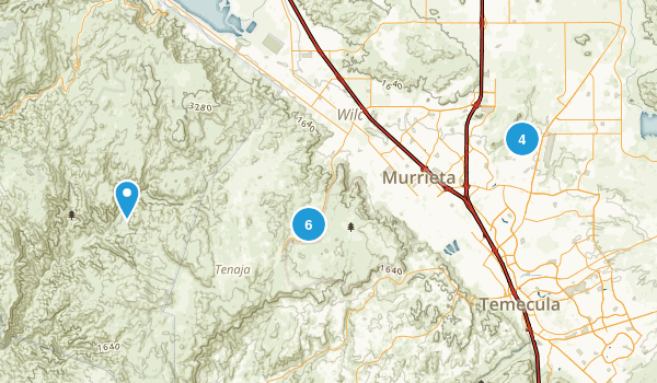 Murrieta, California Birding Map