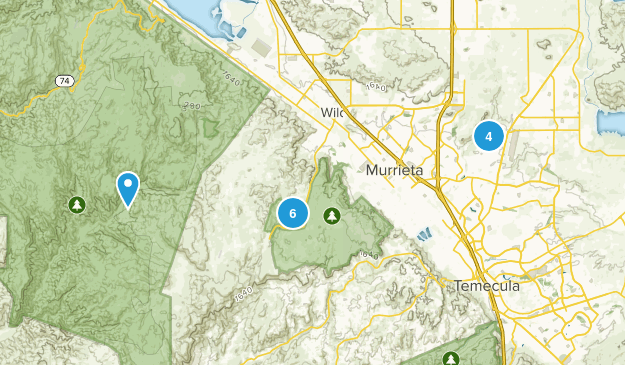 Murrieta, California Birding Map