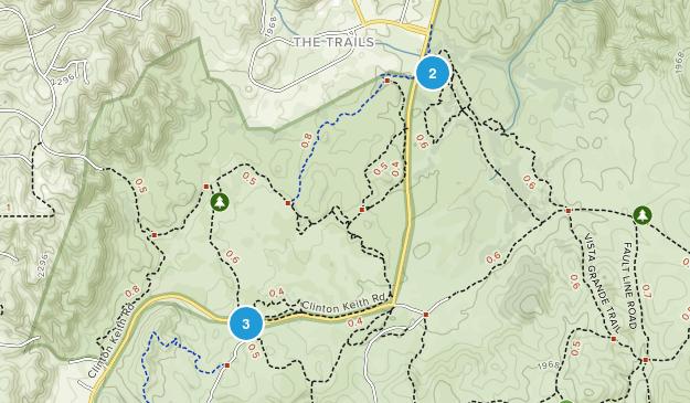 Murrieta, California River Map