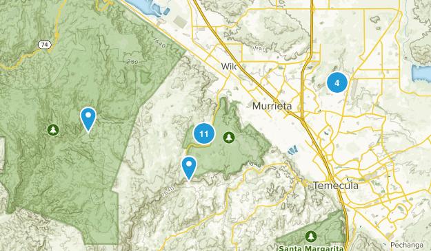Murrieta, California Views Map
