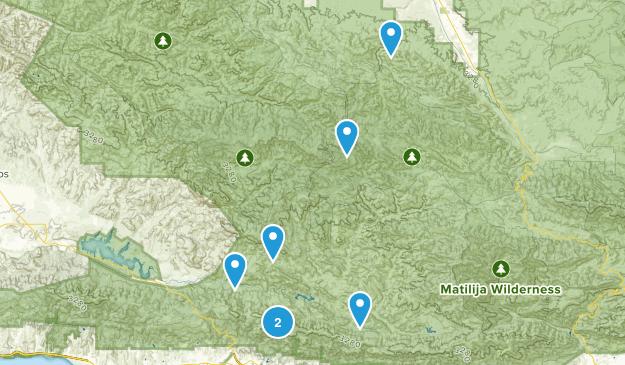 New Cuyama, California Dog Friendly Map