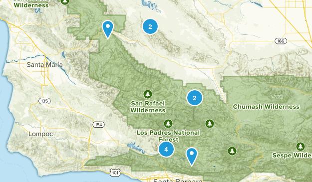 New Cuyama, California Views Map